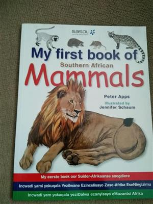 My first book of mammals for sale