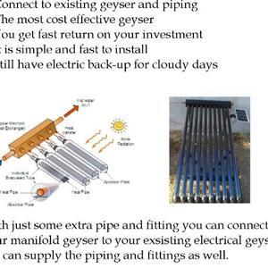 Solar Manifold Geyser