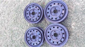4 x 13inch rims for sale