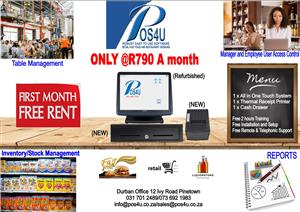 POS System and POS Software First Month Free Rental !!!