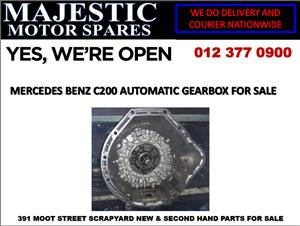 Mercedes benz c200 used gearbox for sale