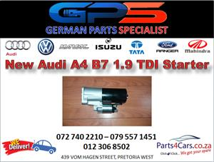 New Audi A4 B7 1.9 TDI Starter for Sale