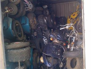 bike parts see pictures old yard @clives bikes imports sa