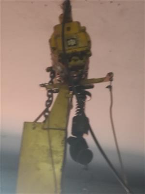 Pneumatic hoist
