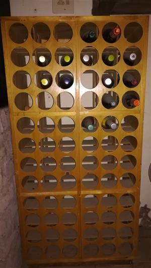 72 bottel wynrak