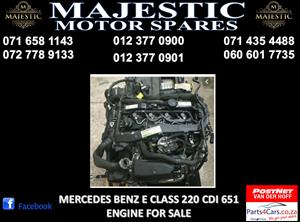 Mercedes benz 651 engine for sale