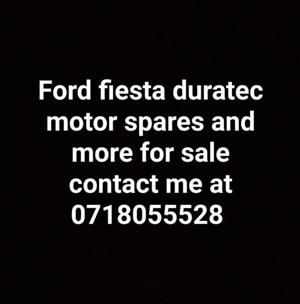 Ford fiesta duratec motor spares and more