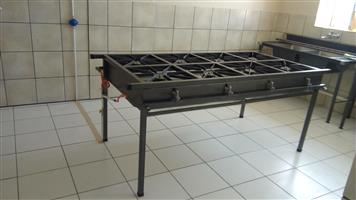 Gas boiling tables