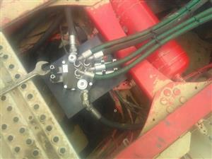 NEW PTO INSTALLATION AND HYDRAULIC SYSTEM INSTALLATION FOR SCANIA, VOLVO, BENZ, FREIGHTLINERS