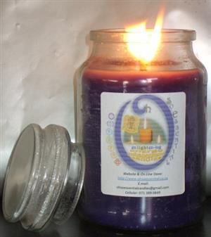 Glass Jar Candles 500g