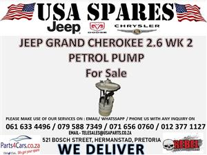 JEEP GRAND CHEROKEE WK 2 2.6 PETROL PUMP FOR SALE