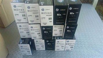 Cash for new printer ink cartridges & toners