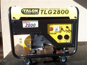 A Steal for R3000 (Talon Petrol Generator TLG2800 )