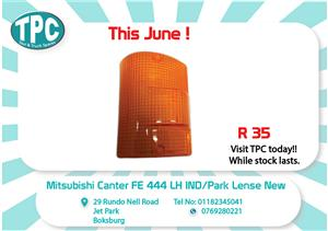 Mitsubishi Canter FE 444 LH IND/Park Lense New for Sale at TPC