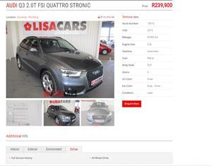 2013 Audi Q3 2.0T quattro