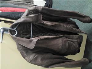 Mens real leather jacket for sale