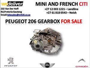 Peugeot 206 gearbox for sale