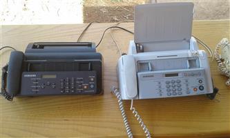 2x Samsung Fax machines