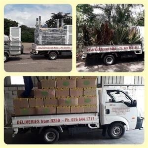 Bakkie for hire from R250 per delivery
