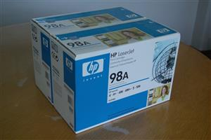 HP Laserjet 98A black and white print cartridges