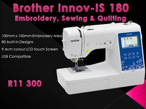 Black Friday Special - Brother Innov-is 180 Combination machine
