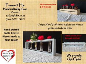 Table Center Pieces- Custom Made
