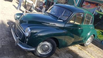 ORIGINAL 1956 Morris Minor 1000 FOR A BARGAIN PRICE R27 000 Read Description for all info