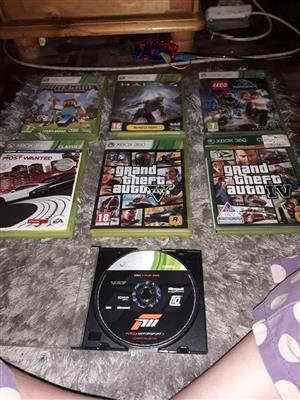 Xbox 360 games for sale in very good condition working as new