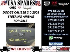 DODGE CALIBER 2.0 2008 STEERING AIRBAG FOR SALE