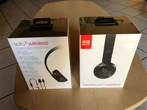 Beats solo 3 wireless head phones