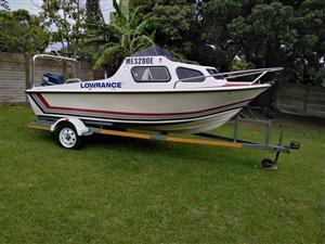 Salmon Hunter Cabin Boat