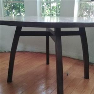 Solid Wood Designer Dining Table.