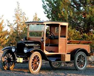 1920 Ford model T pickup project