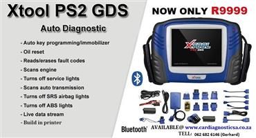 Car diagnostic tool: Released XTOOL PS2 GDS Gasoline Bluetooth