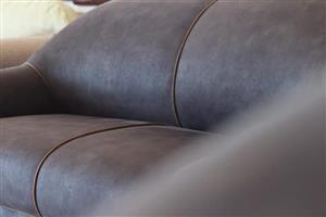 Semi-suede 5 Seater Couch