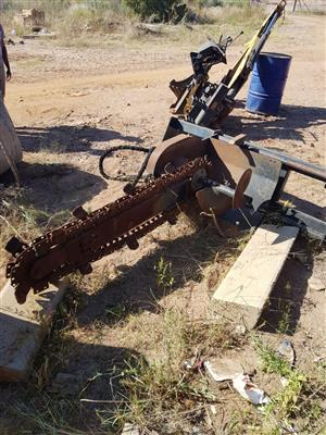 TRENCHER FOR CAT SKIDSTEER FOR SALE