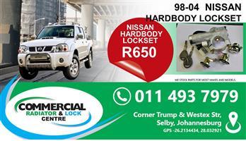 NISSAN HARDBODY LOCKETS FOR SALE