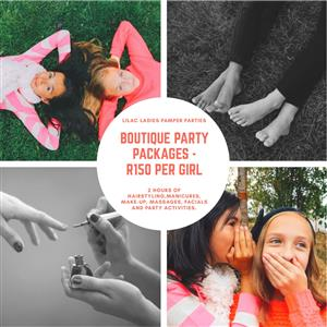 Mobile Pamper Party Presenters for Kids