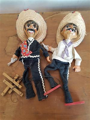 Vintage Mexican Puppets