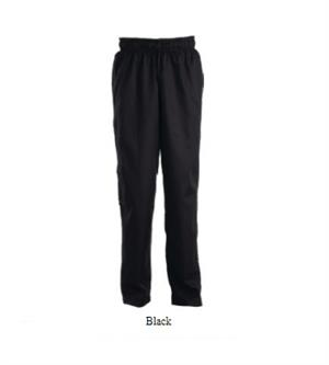 Chef Baggy Pants - Black