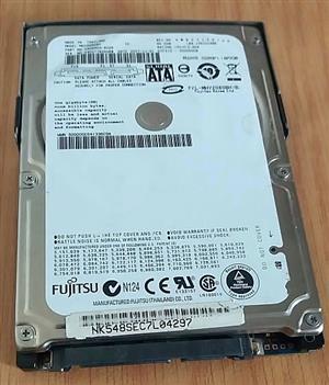 80 Gig 2 ½ SATA laptop hard drive