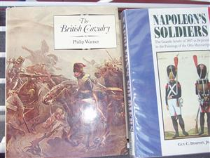 NAPOLEON'S SOLDIERS By Guy C Dempsey & The British cavalry Hardcover – 1984 by Philip Warner (Author)
