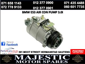 Bmw e53 air con pump for sale