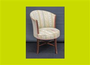 Edwardian Upholstered Tub Chair - SKU 720