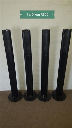 4 Dixon speakers for sale