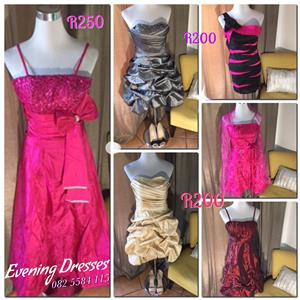 NEW.   Boutique evening dresses and ladies clothing