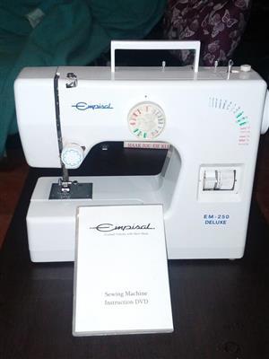 Empisal EM250 Deluxe naaldwerk masjien te koop