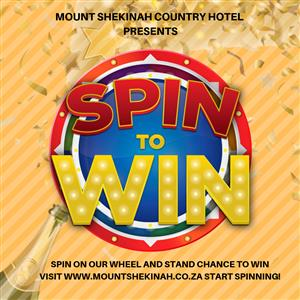 Mount Shekinah Country Hotel Spin To Win Competition