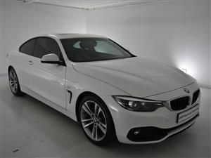 2019 BMW 4 Series 420i coupe Sport Line auto