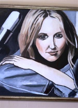 Karen Zoid acrylic painting